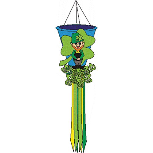 Premier Kites 78413 Leprechaun Holiday Wind Basket, 50-Inch