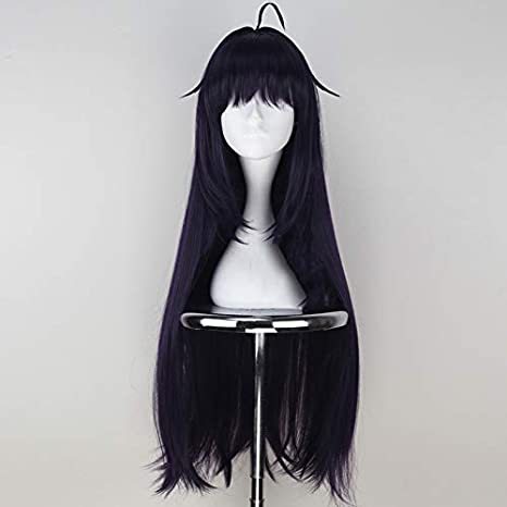Sword Art Online Konno Yuuki Animation Dark Purple Game Party cosplay Wig Hair
