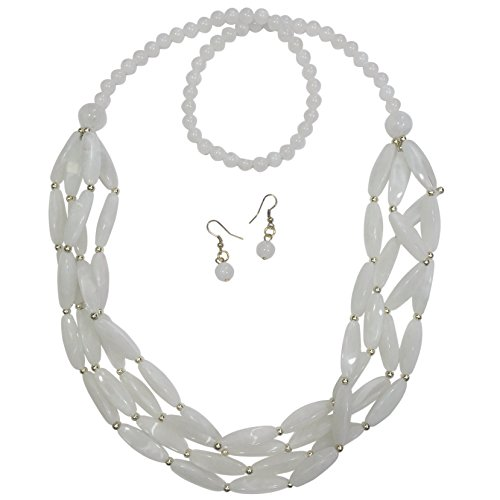 Hat Bead Necklace - 3