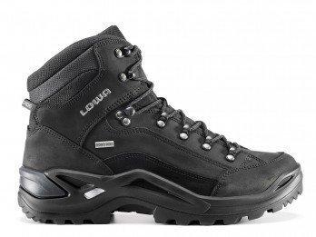 Lowa Hombre Renegado GTX Mid Narrow Zapato al aire libre Gore-Tex   310943 9999 hombre Stiefel de montaña Stiefel senderismo - schwarz, 42