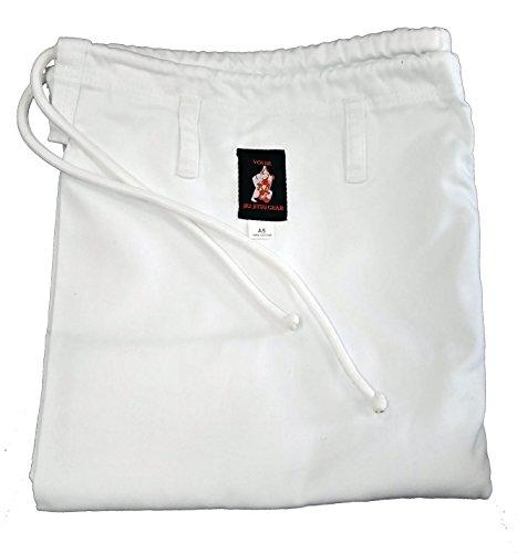 You Jiu Jitsu Gear BJJ GI Uniform Pants (A4 6'2 to 6'4 Height, White)