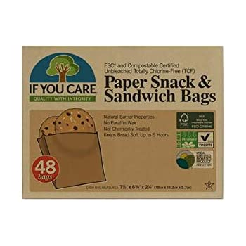 Amazon.com: Lunchskins Recyclable + Sealable Paper Sandwich ...