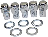 "Mota Performance A75214 Wheel Lug Nuts 5 Piece Mag Style 7/16""-20 Right Hand"
