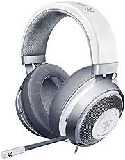 Razer Kraken Mercury Edition – Auriculares Gaming con Almohadillas de Gel de refrigeración, Blanco