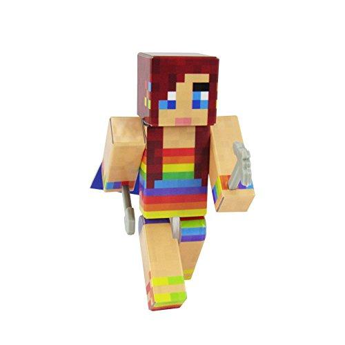 (EnderToys Groovy Girl Action Figure Toy, 4 Inch Custom Series Figurines)