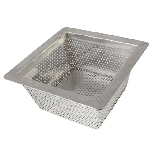 Excellante commercial floor drain strainer 304 stainless for 10 inch floor drain cover