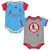 St. Louis Cardinals Vintage Baby / Infant Go Team 2 Piece Creeper Set