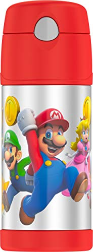Thermos F4019MBG6 Funtainer 12 Ounce Bottle, Super Mario Brothers]()
