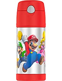 Thermos F4019MBG6 Funtainer 12 Ounce Bottle, Super Mario...