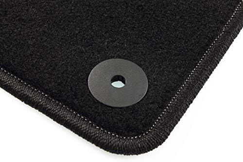 2008-2013 Basic CARMAT TEXER Textil Fu/ßmatten Passend f/ür Seat Exeo Bj