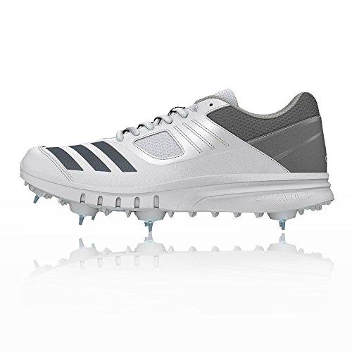 Adidas Howzat Spike Scarpe Di Cricket - Ss18 Grigio