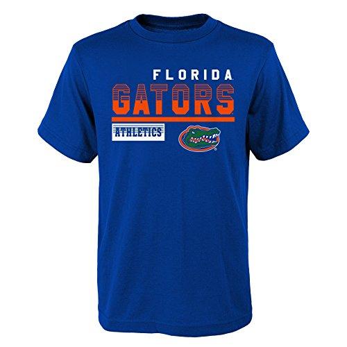 (NCAA Florida Gators Kids & Youth Boys Sonic Boom Basic Tee, Kids Small(4), Royal)