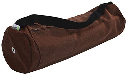 (Bean Products Yoga Mat Bag 100% Hemp, Large or Extra Large (fits all Jade and Manduka Mats) Made in USA)