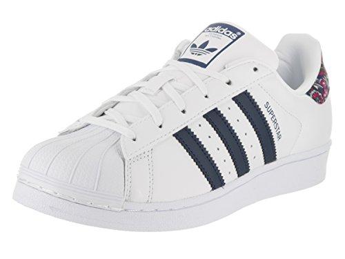 Sneaker Casual Adidas Da Donna Superstar Fondotinta Bianco