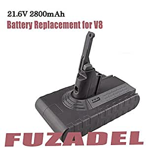 2800mah battery replacement for dyson v8. Black Bedroom Furniture Sets. Home Design Ideas