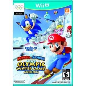 Nintendo Mario & Sonic at the Sochi 2014 Olympic Winter Games Wii U