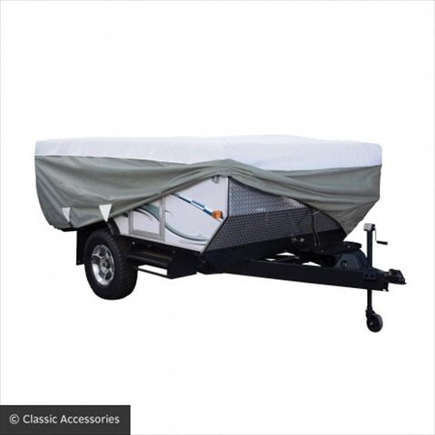 Classic Accessories 41173106 RV PolyPRO 3 Pop Up Camper Cover - 14 - 16 Ft.