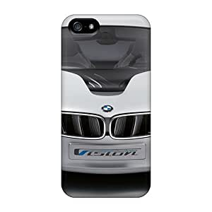 Flexible Tpu Back Case Cover For Iphone 5/5s - Bmw Vision Efficientdynamics Concept 2009