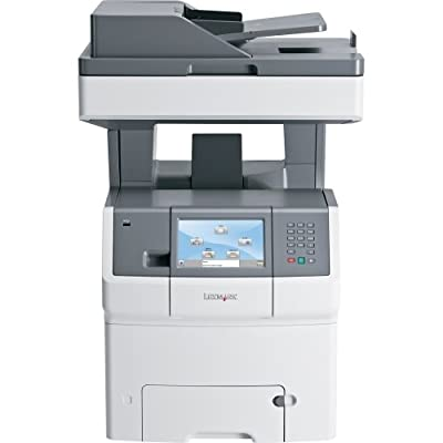 Lexmark International, Inc - Lexmark X736de Laser Multifunction Printer - Color - Plain Paper Print - Desktop - Copier/Fax/Printer/Scanner - 35 Ppm Mono/35 Ppm Color Print - 2400 X 600 Dpi Print - 35 Cpm Mono/35 Cpm Color Copy - Touchscreen - 600 Dpi Opti