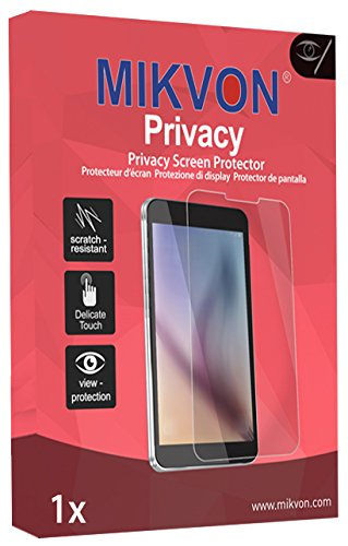 Mikvon Privacy Screen Film for Privacy protection blue for JVC GZ-HD3EX - PREMIUM QUALITY