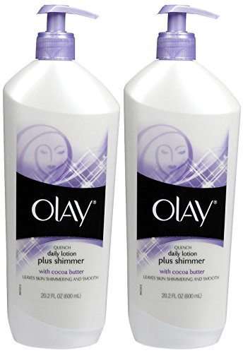 Olay Quench Daily Lotion Plus Shimmer - 20.2 oz - 2 Pack