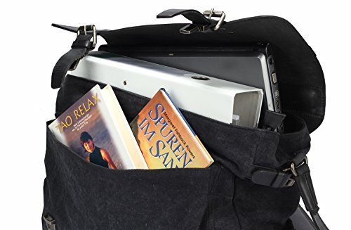 Greenburry Black Sails Messenger Bag 45 cm Laptopfach