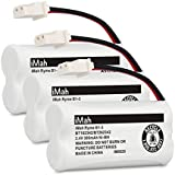 iMah Ryme B1-3 BT162342 BT262342 Cordless Phone Batteries Compatible Vtech CS6409 CS6419 CS6429 CS80100 at&T CL81101 EL5210 EL52400 Handset Telephone (Pack of 3)
