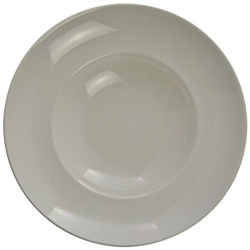 World Tableware Basics Collection Porcelain Bright White Pasta Bowl, 16 Ounce -- 12 per case. by Libbey (Image #1)