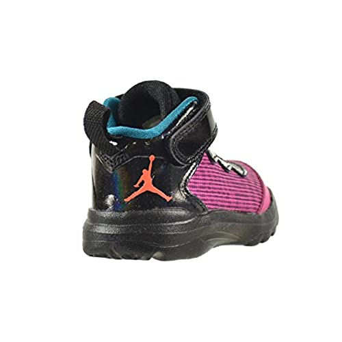 Jordan Super.Fly 3 BT Baby Toddlers Shoes Fusion Pink//Electric Orange-Black-Tropical Teal 684938-625