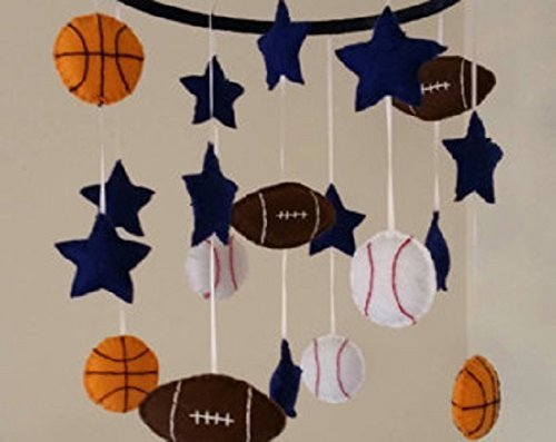 Baby Mobile Sports Infant Shower (Sports Baby Mobile)