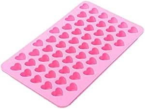 Heart-Shaped Silicone Mold for Making Homemade Chocolate, Candy, Gummy, Jelly, and More
