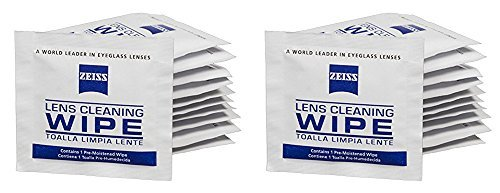 Zeiss Pre-Moistened Lens Cleaning Wipes, Pack of 200 (2 - Sunglass Zeiss Lenses