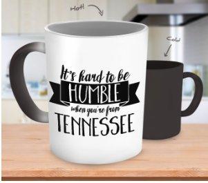 Tennessee Magic Morning Mug Heat Sensitive Color Changing Co