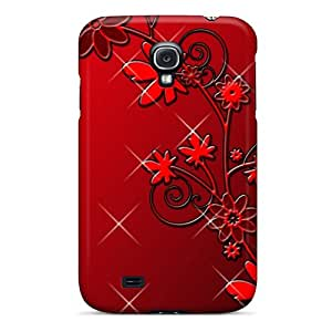 FCKLocation Design High Quality Hd Dark Flowers2 Cover Case With Excellent Style For Galaxy S4