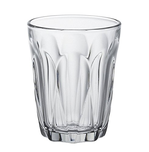 French Tumbler Set (Duralex Provence Toughened French Glass Tumblers Clear Set of 6, 8.5 floz)