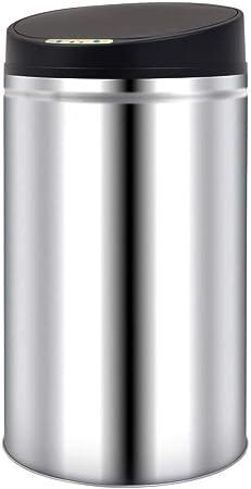 ghuanton Papelera/Cubo Basura Automática con Sensor De Apertura 42LCasa y jardín Productos del hogar Contenedores de residuos Cubos de la Basura y papeleras: Amazon.es: Hogar