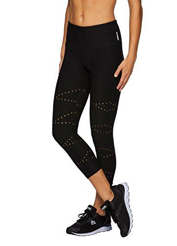 RBX Active Women's Workout Yoga Leggings Black L