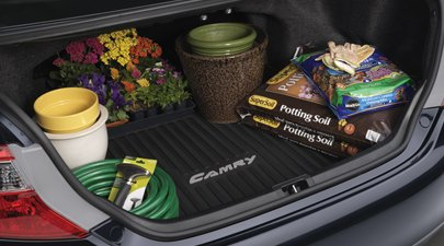 Genuine Toyota Accessories PT908-03121 Custom Fit Cargo Tray - (Black) (Black Cargo Tray)