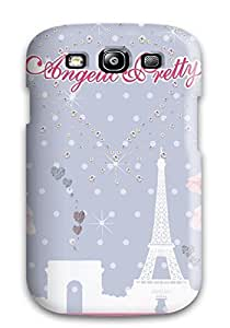 New Style pc S3 Protective Case Cover/ Galaxy Case - Awesome Angelic Pretty By Guillaumes