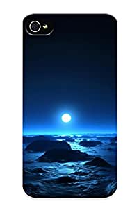New Exultantor Super Strong Space Tpu Case Cover Series For Iphone 4/4s