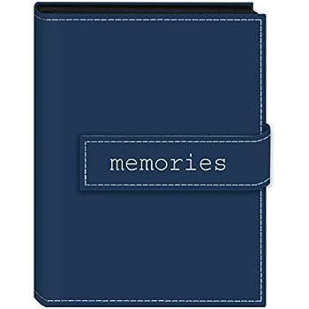 Color : Blue HU Photo Album 5//7 Inch Album Thin 200 Creative Gift Album Album