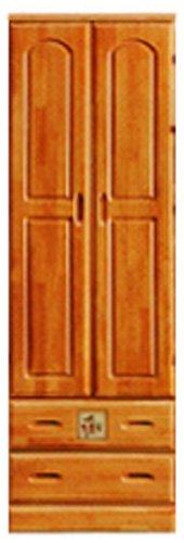 大川家具 nakakei ワードローブ ロッカータンス ナイス 60cm幅 B005K2T1GM