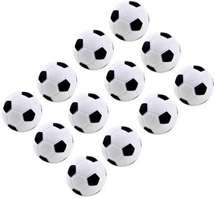 MINGZE 12 Piezas de fútbol de Mesa, Bolas de Repuesto para ...