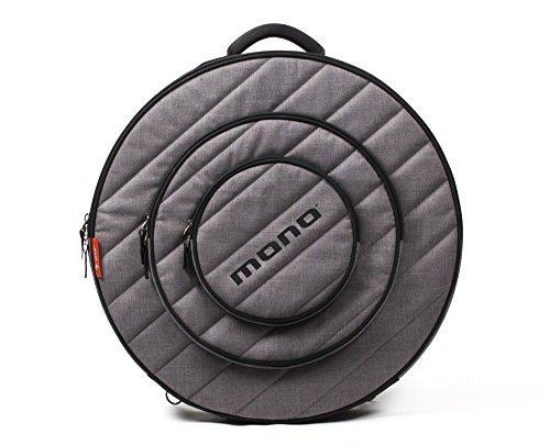Mono M80-CY22-ASH 22-Inch Cymbal Case Ash w/Bonus RIS Polishing Cloth 80687607532