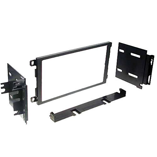 IMC Audio Double Din Dash Kit for Aftermarket Radio Installation for Buick Cadillac Chevrolet