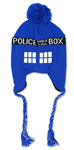 Dr. Who Tardis Call Box Adult Laplander (Tardis Laplander)