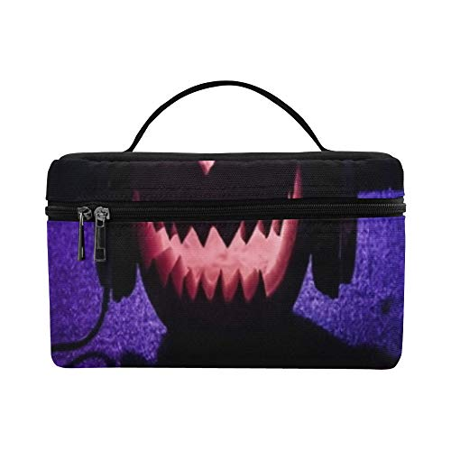 Halloween Pumpkin On Dj Table Headphones Lunch Box