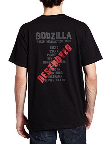 Impact Men's Godzilla World Destruction Tour T-Shirt