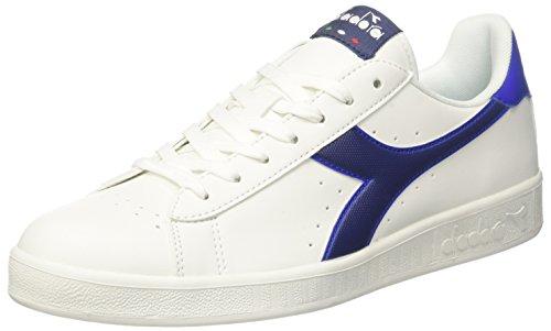Diadora Game P, Sneakers Basses Homme Blanc Cassé (Bco Blu Estate Azzurro Scuro)