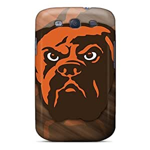 Galaxy High Quality Tpu Case/ Cleveland Browns XQOHLYD1441cRZwo Case Cover For Galaxy S3 by icecream design